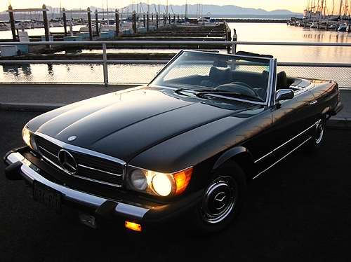 1980 Mercedes-Benz 450 SL. Richard Gere's toy in American Gigolo