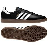 Can't go wrong with a classic samba for casual attire. Even my boys like them.