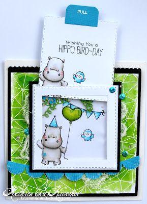 Hallo ihr Lieben! Die neuen Briefmarken und Stempel von MFT sind zu mir gekommen … – Karten Flip Slide Swing Spinner