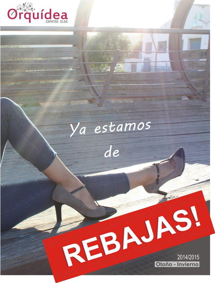 Orquídea #zapatoselda 2014.  #Rebajas temporada Otoño-Invierno 2014/2015. #shoes