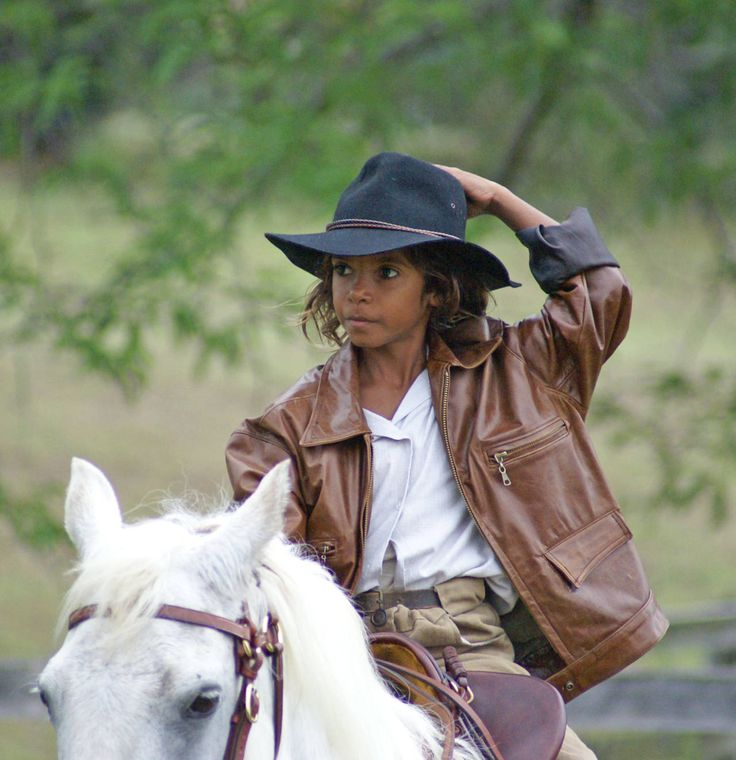 Brandon Walters young indigenous Australian boy starred in the movie 'Australia'.  What a good looking boy.