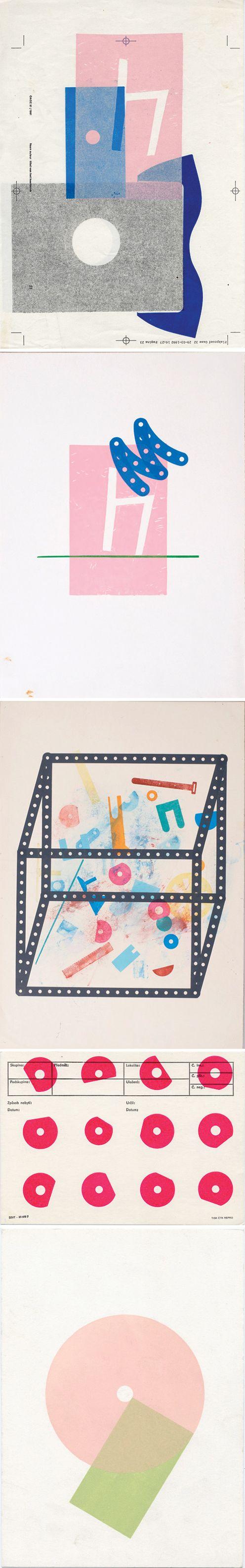 Karel Martens    via http://p-exclamation.org/post/34237318570/karel-martens-selected-letterpress-works