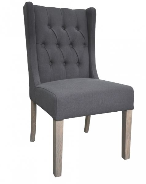 Palermo dining chair Charcoal from Villa Maison #americanstyle #classic #interiors #design