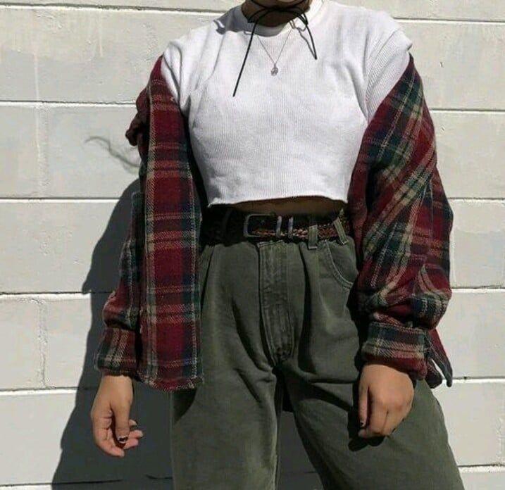 My kinda style. Pinterest // carriefiter // 90s fa…