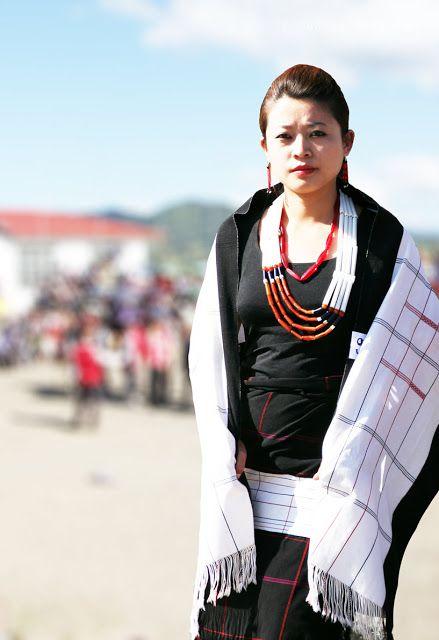 a701f97877 Lotha Women Traditional Dress Tokhu Emong | Nagaland Traditional ...