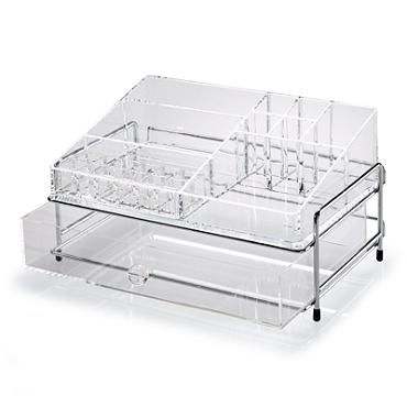 Ava Acrylic Organizer.  Love this organizer if you must keep your makeup accessible.