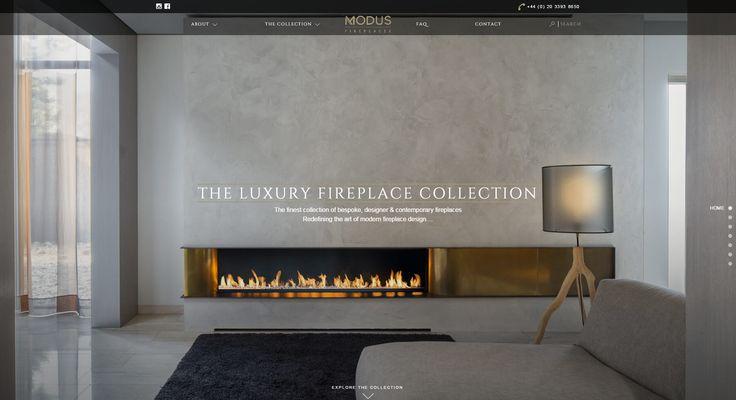 Modus Fireplaces entwickelt und produziert einzigartige zeitgenössische Luxus-Kamine.