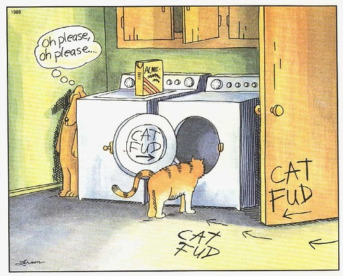 14 best far side images on pinterest ha ha funny stuff and comic cat fud i got a birthday card of this one year far side bookmarktalkfo Choice Image