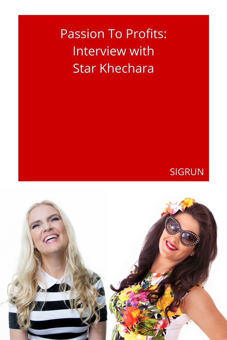"""Star is a serial entrepreneur who has already built two businesses and is now working on the third. Watch the interview with """"Miss Monetisation"""". https://www.sigrun.com/interview-star-khechara/"""