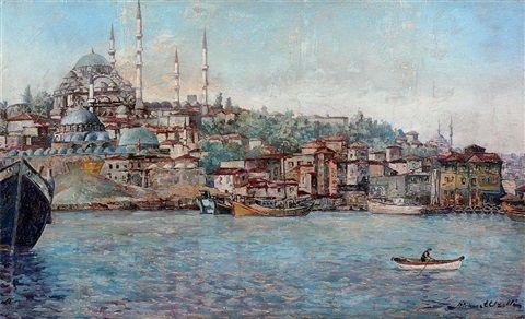Ahmet Uzelli Süleymaniye ve Haliç Yağ İskeles