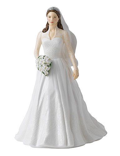 Royal Doulton: Catherine - Royal Wedding Day Figurine