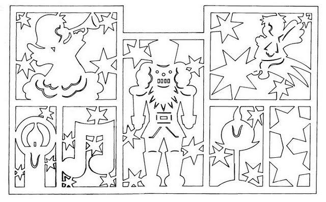 Вычинанки и киригами (Новый год и Рождество) - AngelOlenka - Picasa-Webalben