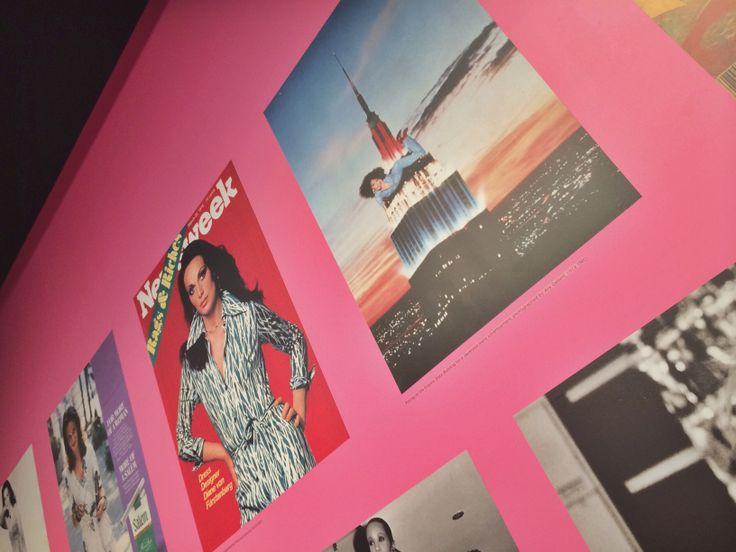 #DVF #JourneyofaDress exhibit at LACMA #Pink