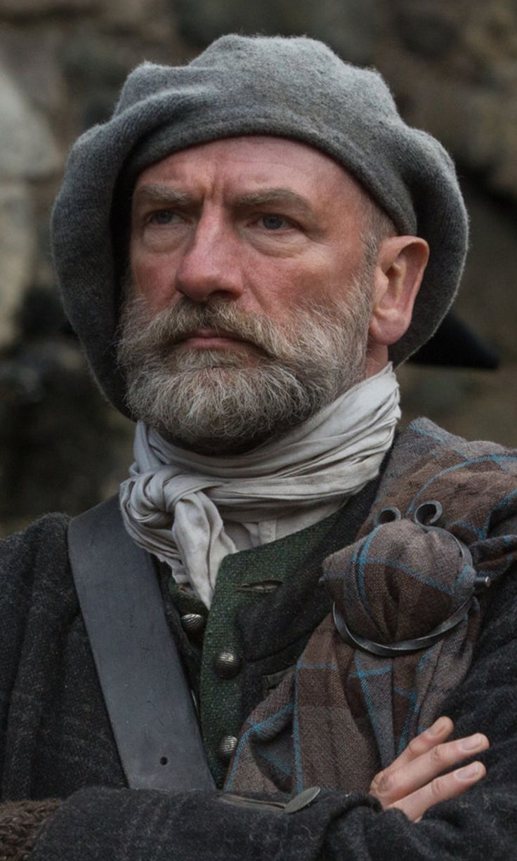 Dougal MacKenzie played by Graham McTavish Season 1B cast still