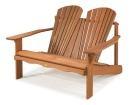 Cadeira de Descanso Dupla - Jatobá | Cadeiras | Meu Móvel de Madeira