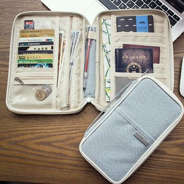 External Battery USB Flash Drive Earphone Digital Gadget Pouch Travel Silver Storage Bag is good-NewChic Mobile.