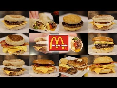 How To Make The Entire McDonald's Breakfast Menu At Home