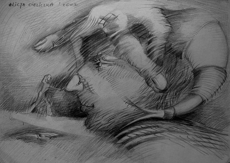 "https://flic.kr/p/qd79Rp   ""обуздать любопытство""   drawing, pencil on paper"