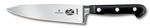Victorinox Chefs Knife, Traditional Forged, 6 in., Black