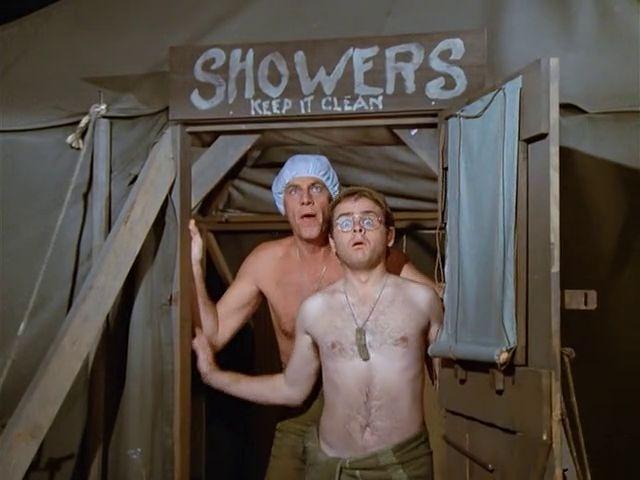 M*A*S*H: Season 2, Episode 10 The Sniper (17 Nov. 1973) McLean Stevenson , Lt. Colonel Henry Blake, Gary Burghoff , Corporal Walter Eugene Radar O'Reilly . mash,