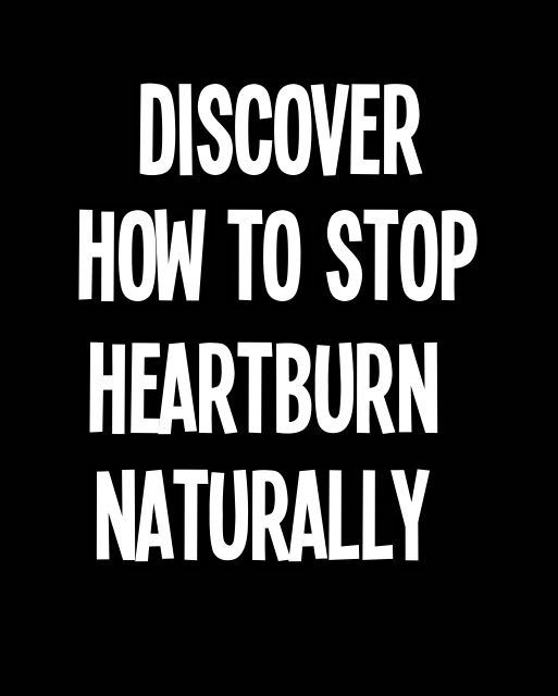 Discover How to Stop Heartburn Naturally --- The abnormality in the contraction of the lower esophageal sphincter caused the occurrence of acid reflux leading to heartburn. Symptoms include chest pain, constant burping, bloating and flatulence. Common treatment for acid reflux to avoid heartburn is antacid, a stomach acid neutralizer. Although drugs are effective to some people, you also have an option to stop heartburn naturally. #heartburn #acidreflux #digestiveproblems