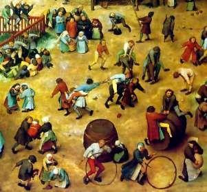 Pieter brueghel the elder-children playing-detail - Pieter Bruegel the Elder - Wikipedia, the free encyclopedia