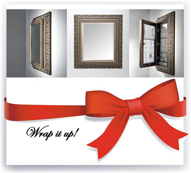 Spread holiday cheer with a Royal Delgoti jewelry cache. http://royaldelgoti.com/shop/mount-jewelry-armoire-organizer-mirror/