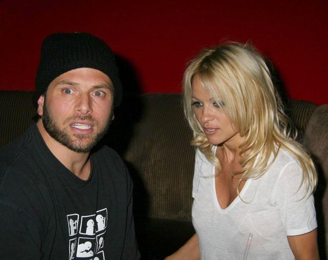 Pamela Anderson gets restraining order on estranged hubby Rick Salomon. He calls her baby killer.