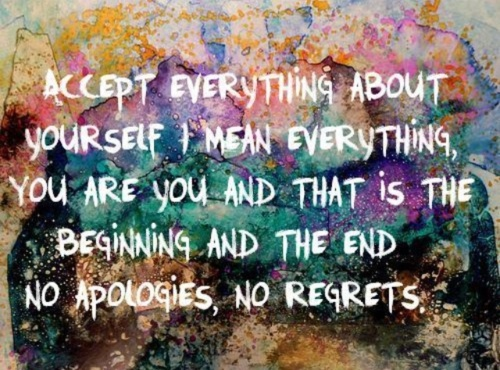 Acceptance <3Happy Thoughts, Life Quotes, Remember This, Food For Thoughts, Lifequotes, Stay True, Life Mottos, No Regret, True Stories