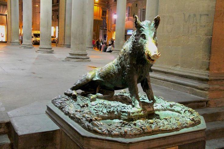 Il Porcellino - rzeźba dzika we Florencji