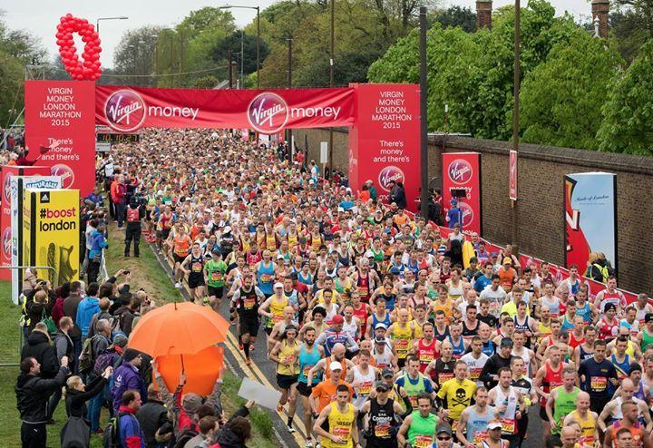 BCI @ The London Marathon 2016 – Heyevent.uk
