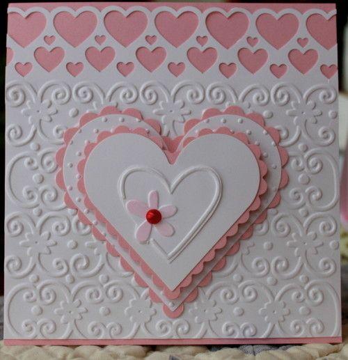 17 Best images about Cricut Valentine Cards – Valentine Cards Image