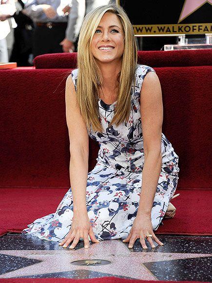 Jennifer Aniston, such a classy lady.
