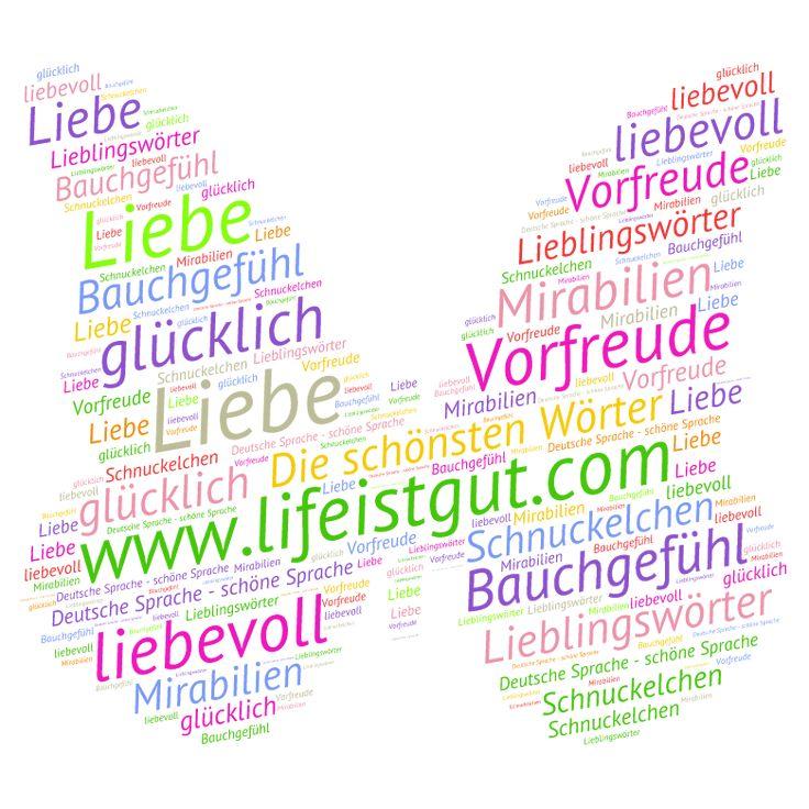 Красивые немецкие слова и фразы.