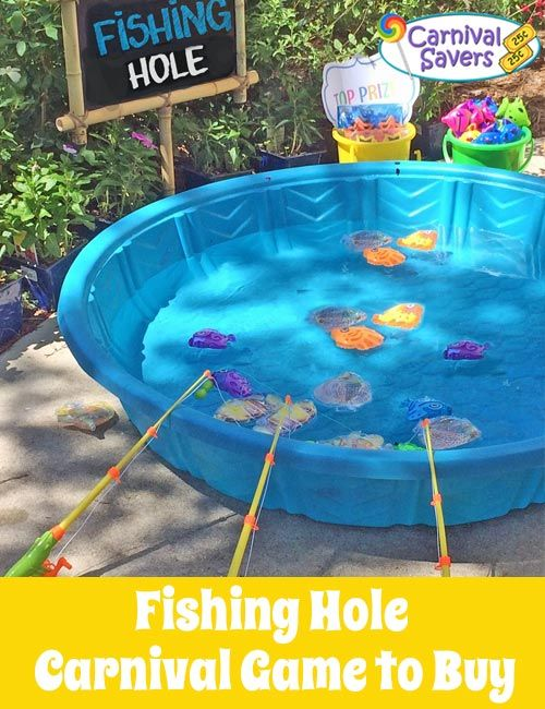 Magnetic Fishing Set - Fun for school carnivals, fall festivals and more!