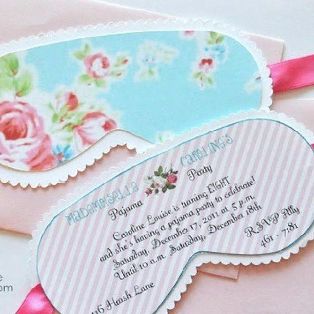 Pj party invitation   Party   invitations & printables ...