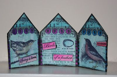 Gingerbits: Bird House | Unruly PaperArts