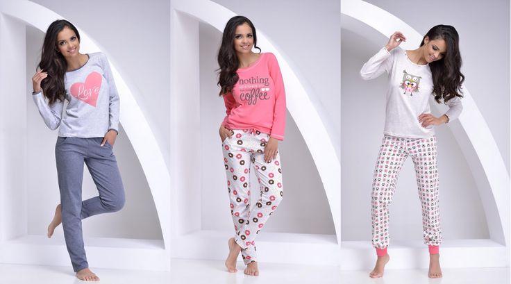 Модные и стильные женские пижамы 2017 - что носить дома