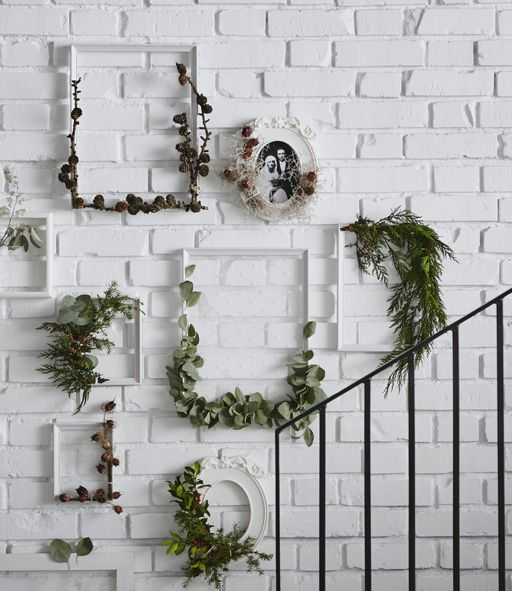 Wall Sconces For Greenery : 25+ best ideas about White brick walls on Pinterest White bricks, Brick wall tv and White ...