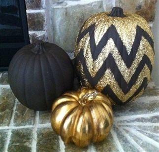 DIY pompoen decoratie Halloween