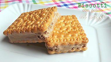Biscotti con gelato al caffè per una merenda di fine estate / CosmoKitchen / for you / Home page - Cosmopolitan