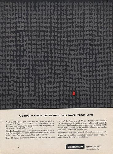Ad by Erwin Wasey, Ruthrauff & Ryan, Inc. 1961: Unknown Ads, Rain Blood, Design Unknown, Photo Shared, Magazine Ads, Ads Design, Ads Erwin, Magazines Ads, Ads Agency