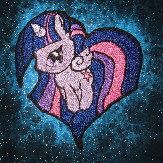 Princess Twilight Sparkle  Pony Patch  Iron on Patch | $12