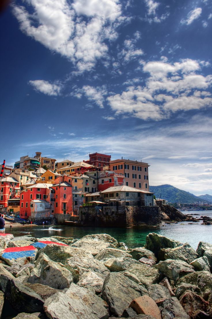Boccadasse, Genoa, Italy Liguria