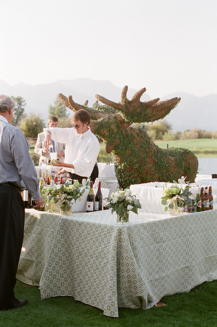 rustic mountain jackson hole wyoming wedding carrie patterson