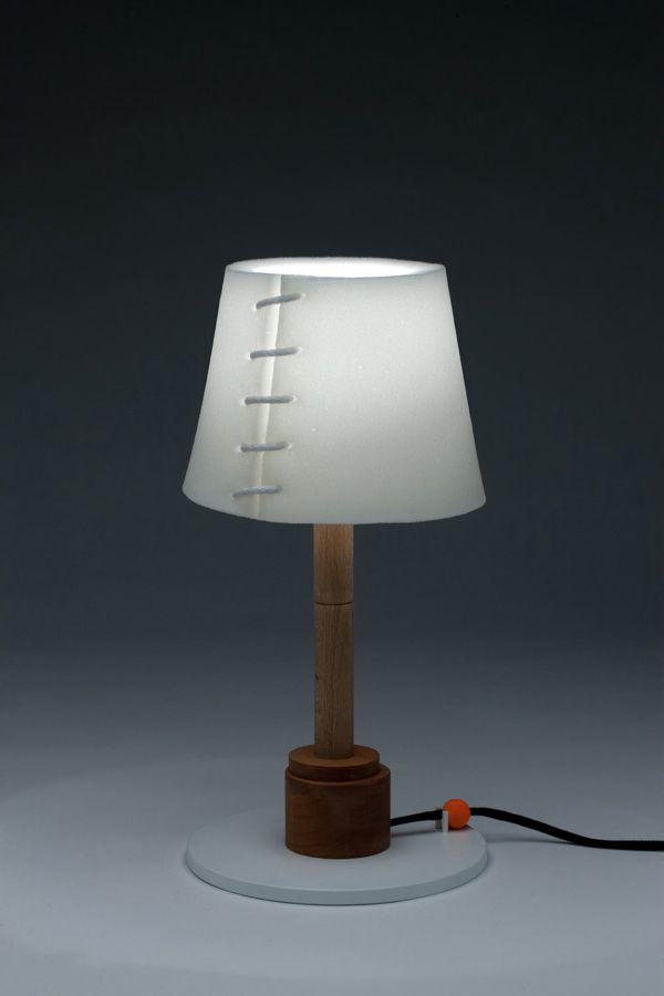 Hayo Gebauer collapse lamp
