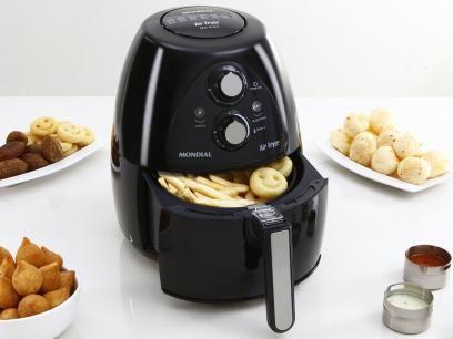 Fritadeira Elétrica Air Fryer/Sem Óleo Mondial - AF-05 2,7L Timer com as melhores condições você encontra no Magazine Destijl.  por R$ 339,90 Confira!