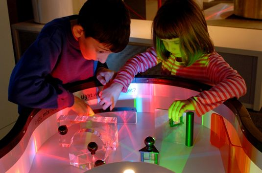 Museum Notes: Light Table Explorations