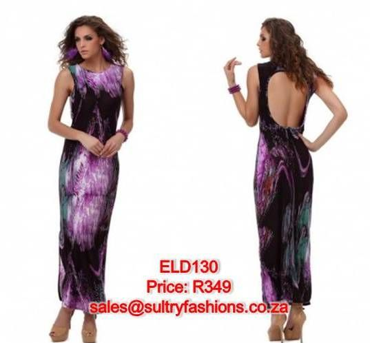 ELD130- PRICE: R349  AVAILABLE SIZES: S/M (Size 8-10 / 32-34) To order, email: sales@sultryfashions.co.za