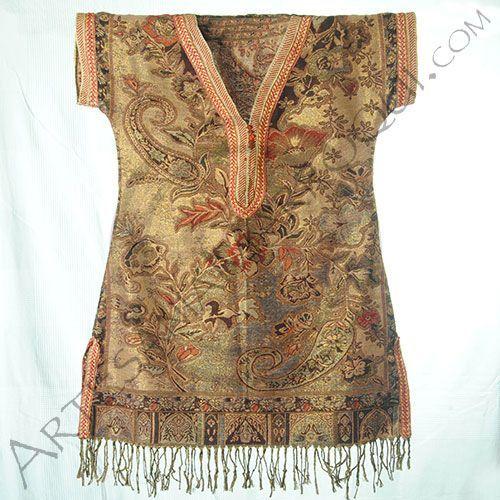 Camisa pashmina de Marruecos   artesania-marroqui.com